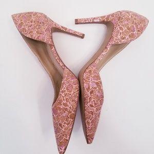 RARE ANTHROPOLOGY MISS ALBRIGHT Beaumaris heels